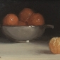 Clementines with Silver Bowl by Robbie Wraith RP