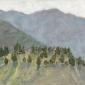 Mountain Landscape II by Delia Tournay-Godfrey