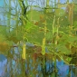 """Watermeadows"" Pastel by Sheila Goodman"