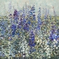 'Delphiniums' oil painting by Anne-Marie Butlin