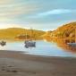 """Morar, Evening Calm"" Oil painting by Margaret Heath"