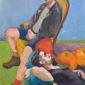 Eve Pettitt Two Pumpkins