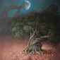 Olive Tree and Moon by Miriam Escofet