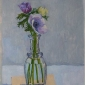 'Anemones' oil painting by Toby Ward