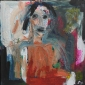 'Lisa' acrylic painting by Eliza John