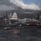 'St Paul's in the Afternoon' oil painting by Archie Wardlaw