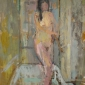 Bathroom Nude by Daniel Shadbolt NEAC