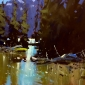 Tony Allain Sparke Lake