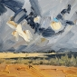'West Wittering III' oil painting by Michael Jules Lang
