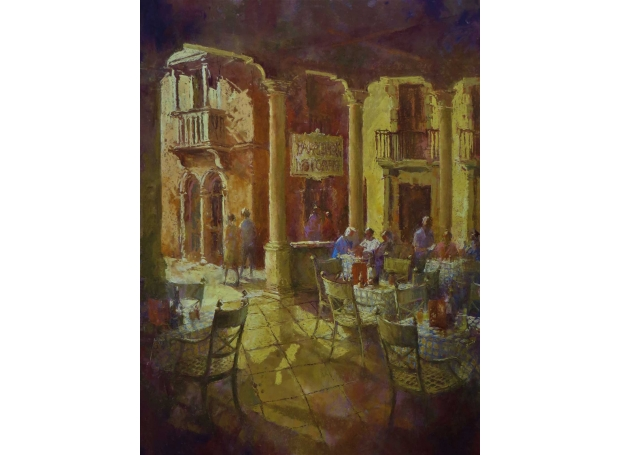 Arnold-June-Croatian-Island-cafe.-pastel.jpg