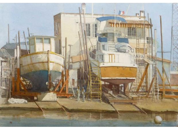 Banning-Paul-Boat-repairs-Le-Grau-de-Roi-France.jpg