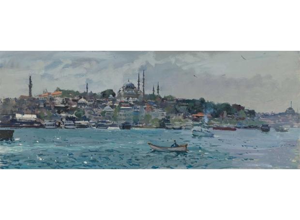 Brown-Peter-Towards-the-Fatih-Mosque-from-the-Galata-Bridge.jpg