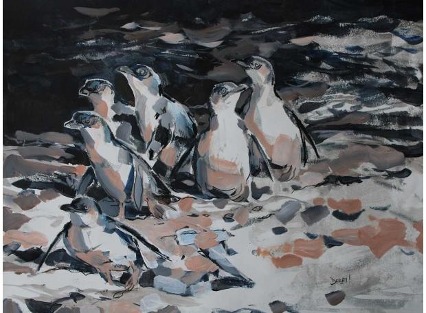 Derry-Nick-Little-Penguinsmonoprint-and-mixed.jpg