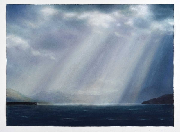 Draper-Matthew-Translusant-Cre-puscular-Rays-series-No-9-pastel-on-paper-9.-net-to-artist-L.jpg