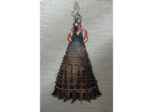 Renata Adela Heatherley School of Fine ArtBabel is Burning