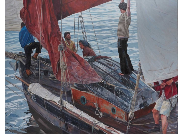 Hall-Tim-Leaving-the-Harbour-Mousehole.jpg