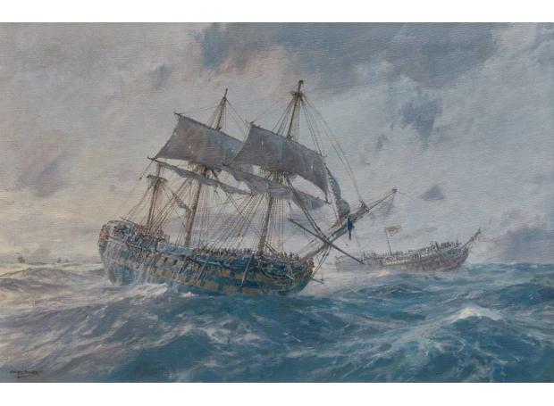 Hunt-Geoff-The-Trafalgar-Storm-HMS-Mars-Standing-by-Royal-Sovereign.jpg