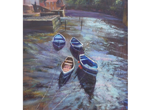 King-Robert-Reflections-&-Shadows-Roxby-Beck-Staithes-Reflections.jpg