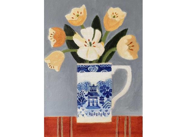 Leman-Jill-Tulips-In-A-Willow-Pattern-Jug.jpg