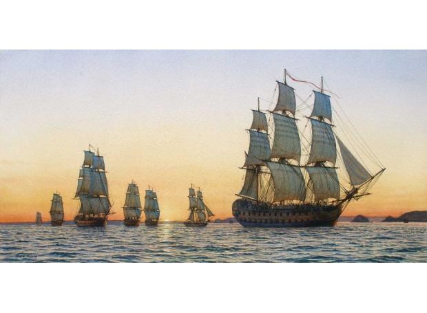 Myers-Mark-H.M.Ship-Triumph-and-Squadron-off-the-Pointe-du-Raz.jpg