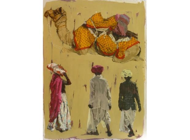 AnnaPinksterCamel-and-three-figures,-Rajasthan.jpg