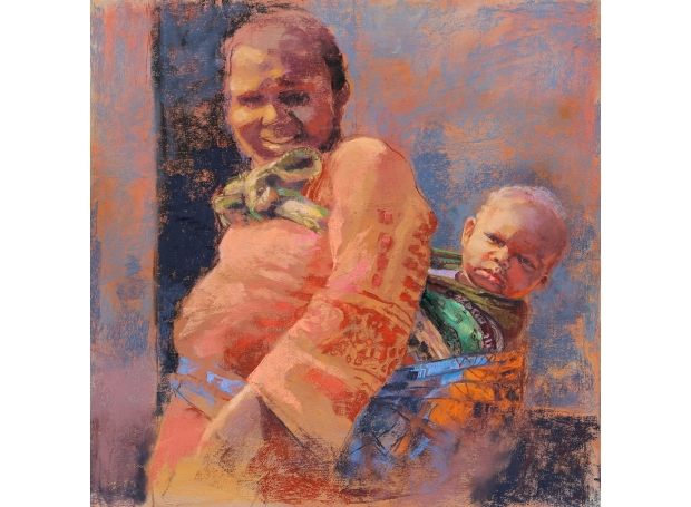 MargaretLarlham-Tanzanian-Mother-And-Child.jpg