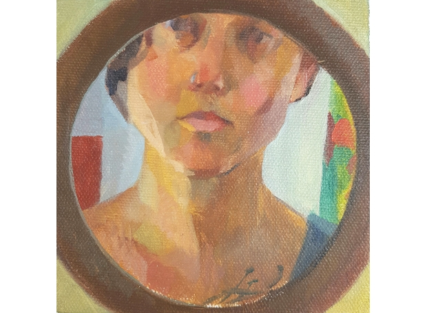 SuzonLagarde-Self-Portrait-in-the-rounded-mirror.jpg