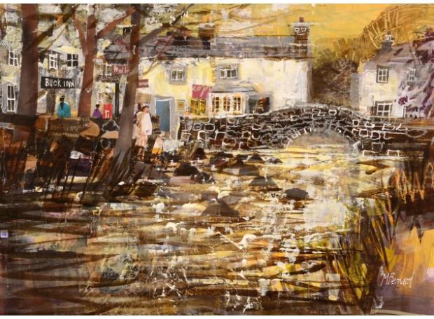 Bernard-Mike-The Stream At Malham.jpg