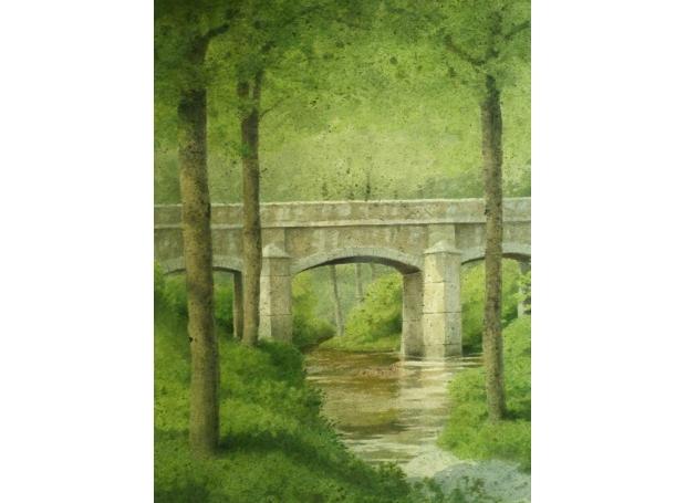 Hughes-Kevin-Bridge Over the River Dart.jpg