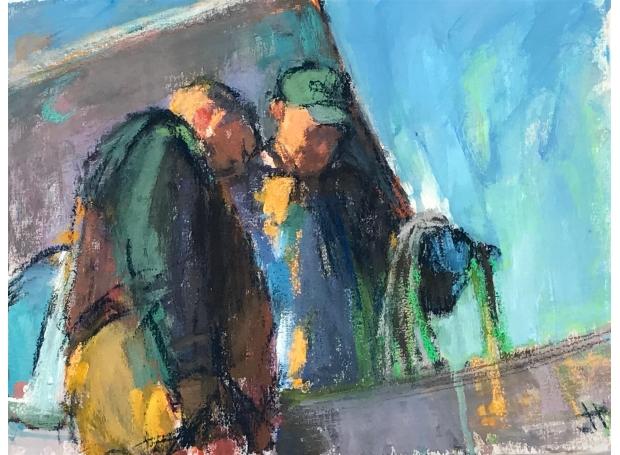 Hodgson-Jane-Waiting for the walberswick ferry.jpg