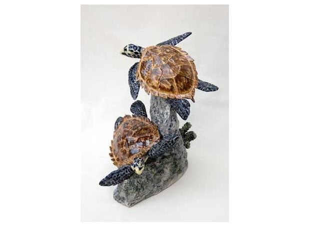 Moger-Jill-Two-young-Hawksbill-Turtles---stoneware---29x25cms---£1300.jpg