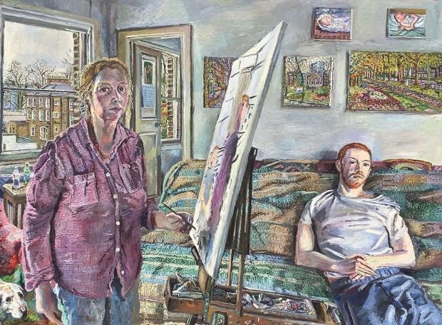 Scott-Miller-Melissa-Self-Portrait-Painting-Son-during-Lockdown.jpg