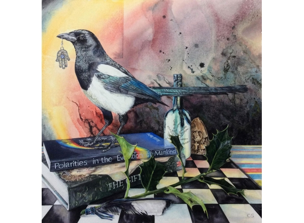 Claire Sparkes Watercolour Artist The Visitor