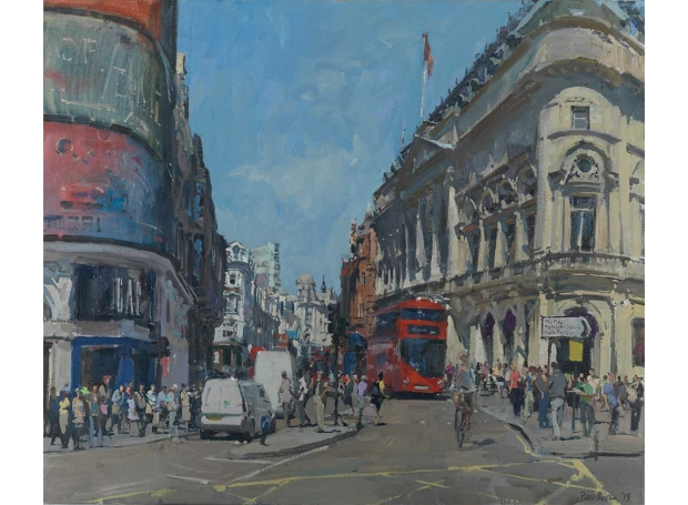 Brown-Peter-The-Bottom-of-Shaftesbury-Ave-from-Piccadilly.jpg