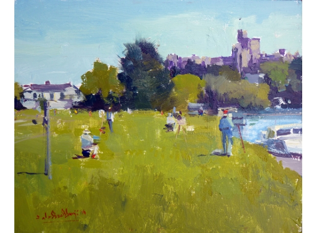 Adebanji Alade, ROI Plein Air Painting Day