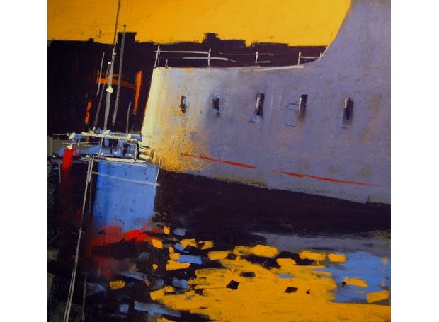 Allain-Tony-Sunset, Penznace Harbour.jpg