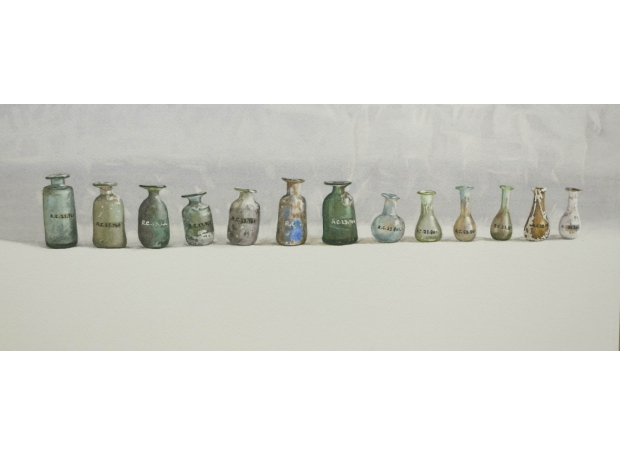 August-Lillias-A Row of  Roman Bottles.jpg