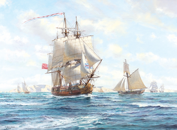 Cross_Roy_The royal yacht Caroline II 1749 50.jpg