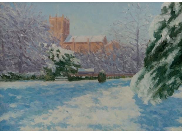 Halsby-Julian-Snow, Sherborne Abbey.jpg