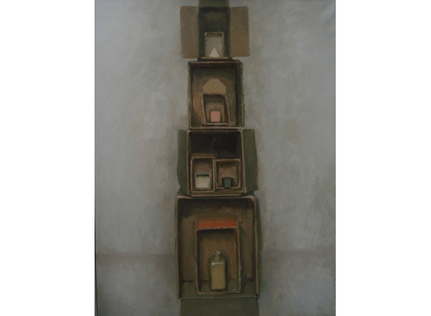 Hardaker-Charles-Still-Life-Structure---Tower-(White-Triangle).jpg