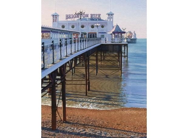 Heath-Margaret-Early Morning, Brighton Pier.jpg