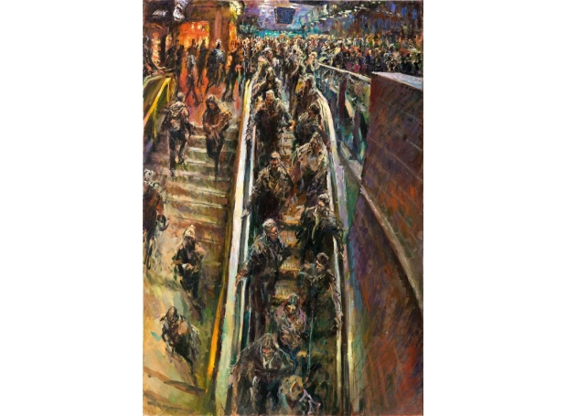 Rob Pointon, Piccadilly Falls Mall Galleries