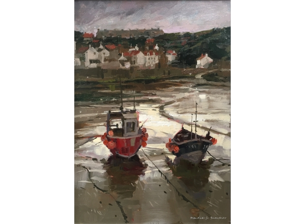 Summers-Haidee-Jo-Afternoon Light, Staithes.jpg