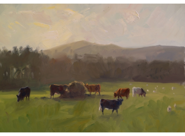 Cattle Grazing by Frances Bell Buy Art Buy Now