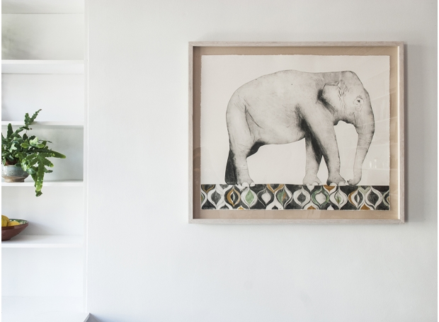 Indian Elephant by Beatrice Forshall