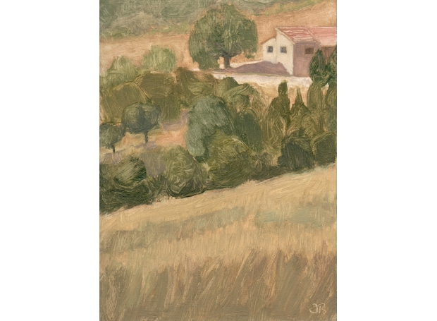 House in Rosans II by Delia Tournay-Godfrey
