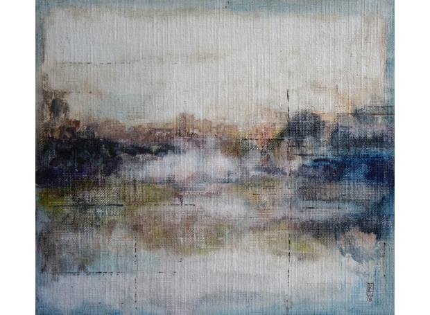Morning on River Lee by Bernadett Timko