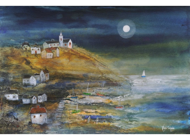 Coastal Village by Rosa Sepple PRI