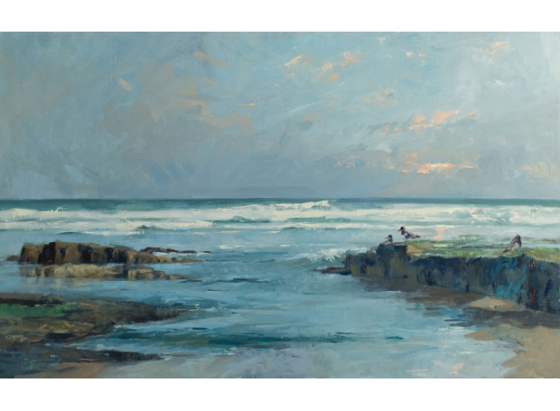Out of Bamburgh by Frances Bell
