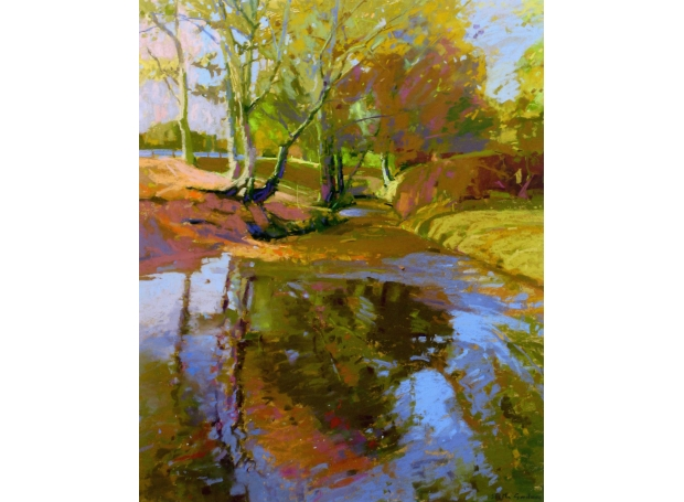 Autumn Reflections by Shelia Goodman PS